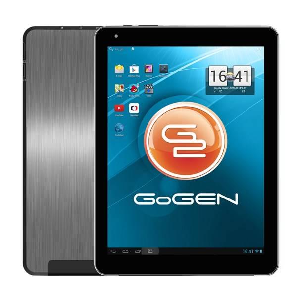 Dotykový tablet GoGEN TA 10300 QUAD hliník