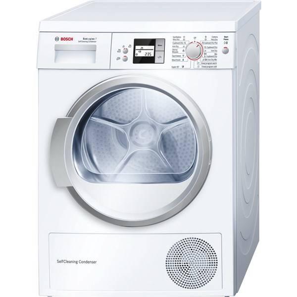 Sušička prádla Bosch WTW86564BY biela