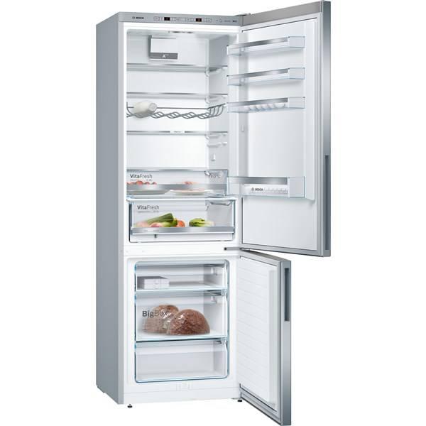 Chladnička s mrazničkou Bosch KGE49VI4A nerez