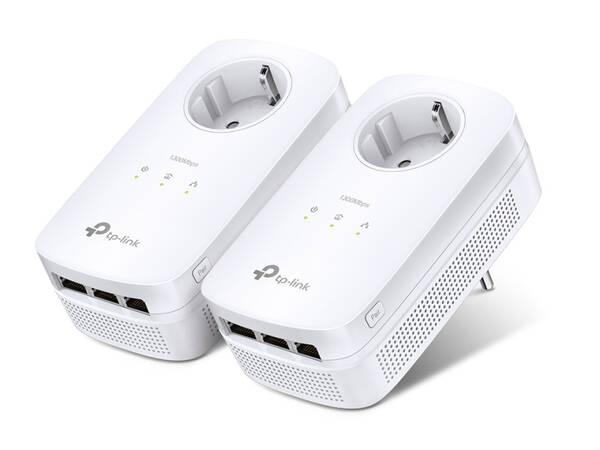 Síťový rozvod LAN po 230V TP-Link TL-PA8030PKIT + IP TV na 1 měsíc ZDARMA (TL-PA8030PKIT) bílý