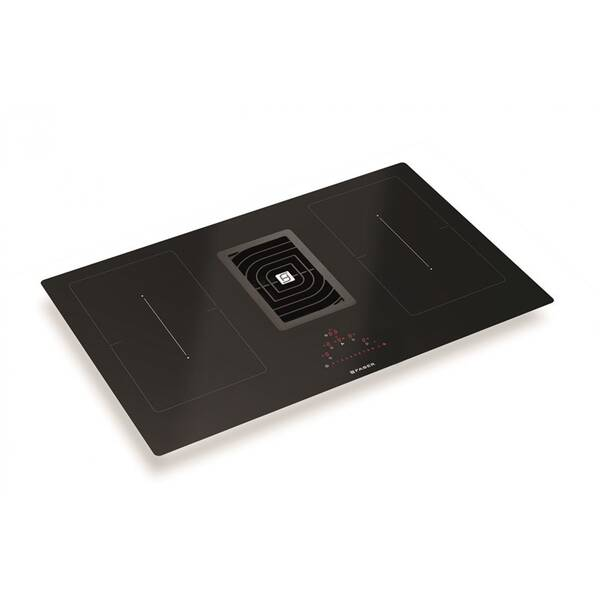 Indukčné varné dosky s odsávaním Faber GALILEO SMART BK A83 čierna