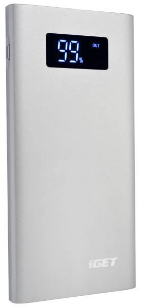 Powerbank iGET Power B7000S 7000mAh (B-7000S ) stříbrná