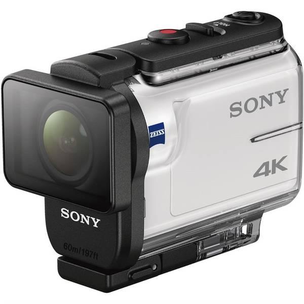 Outdoorová kamera Sony FDR-X3000R + AKA-FGP1 travel kit (FDRX3000RFDI.EU) bílá