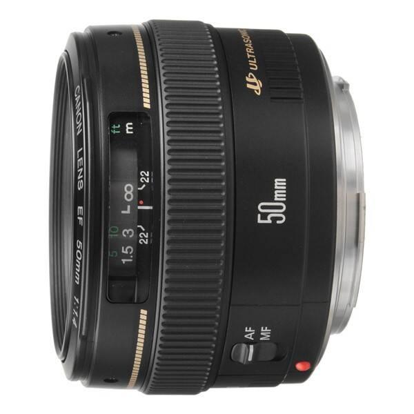 Objektív Canon EF 50 mm f/1.4 USM (2515A019AA) čierny