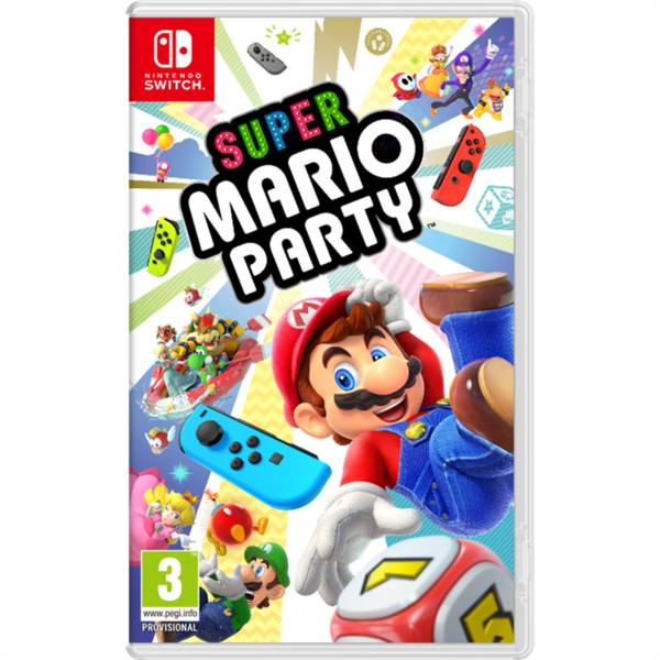 Hra Nintendo SWITCH Super Mario Party (NSS672)