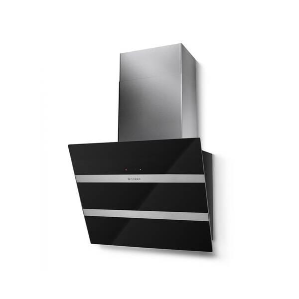 Odsavač par Faber STEELMAX EV8 BK/X A55 černý/sklo