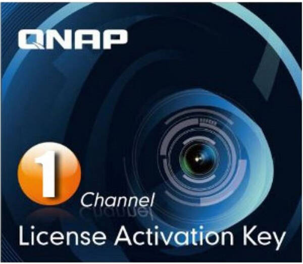 Software QNAP Camera License Pack x 1 (LIC-CAM-NAS-1CH)