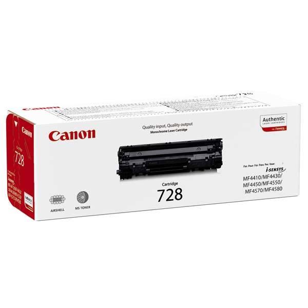 Toner Canon CRG-728, 2,1K stran, originální (3500B002) černá