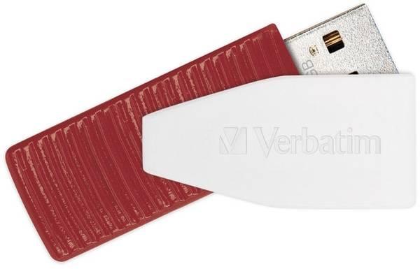 USB Flash Verbatim Store 'n' Go Swivel 16GB (49814) červený