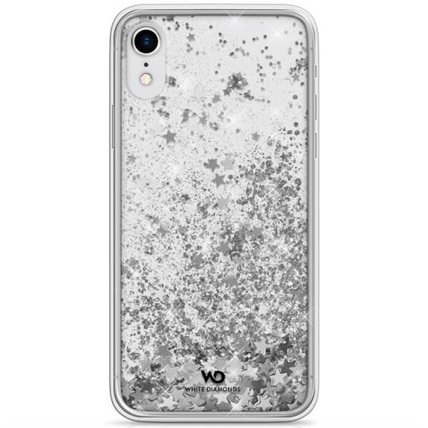 Kryt na mobil White Diamonds Sparkle na Apple iPhone XR (WD1380SPK12) strieborný