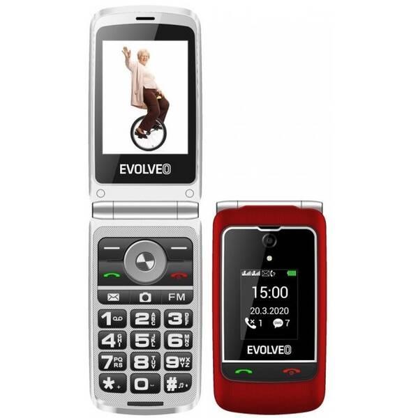Mobilný telefón Evolveo EasyPhone FG (EP-750-FGR) červený