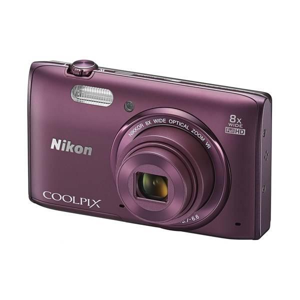 Digitální fotoaparát Nikon Coolpix S5300 fialový