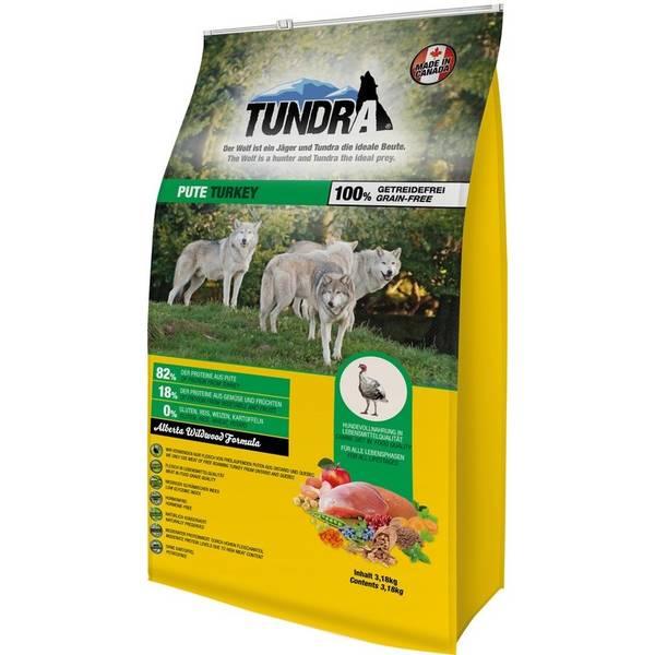 Granule Tundra Dog Turkey Alberta Wildwood Formula 3,18 kg