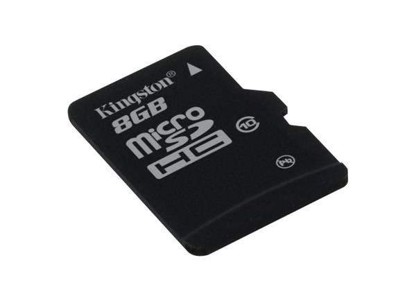 Pamäťová karta Kingston MicroSDHC 8GB UHS-I U1 (30MB/s) (SDC10/8GBSP)