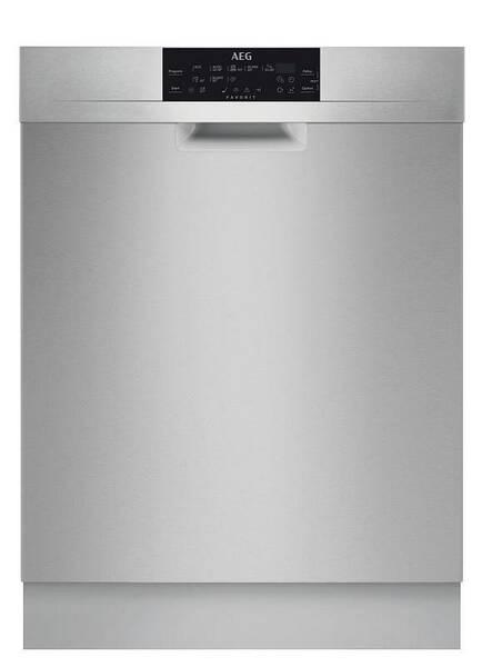 Umývačka riadu AEG Mastery FFB83730PM nerez