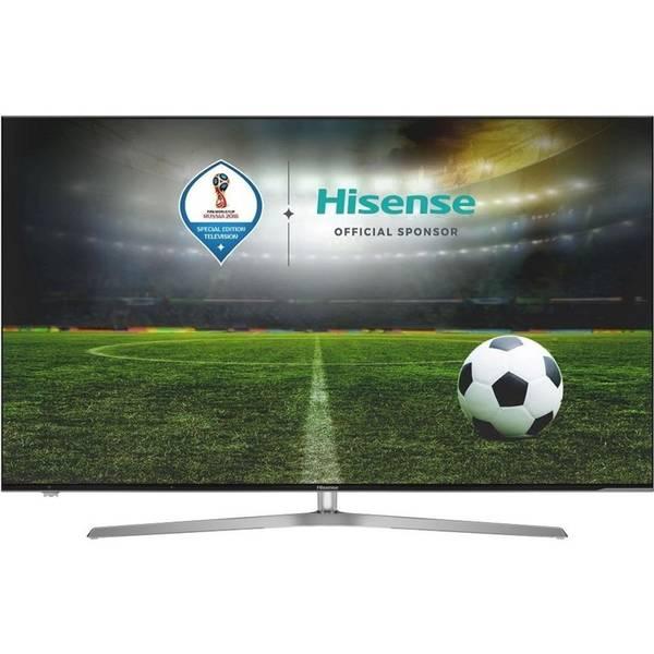 Televize Hisense H55U7A černá/stříbrná