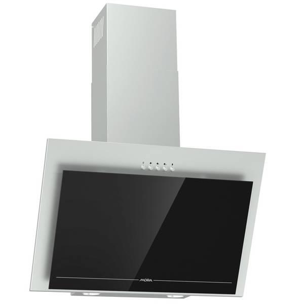Odsavač par Mora OV 647 GX černý/nerez/sklo