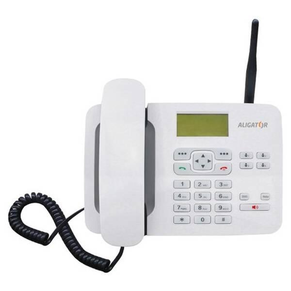 Domácí telefon Aligator T100 (stolní) (AT100W) bílý