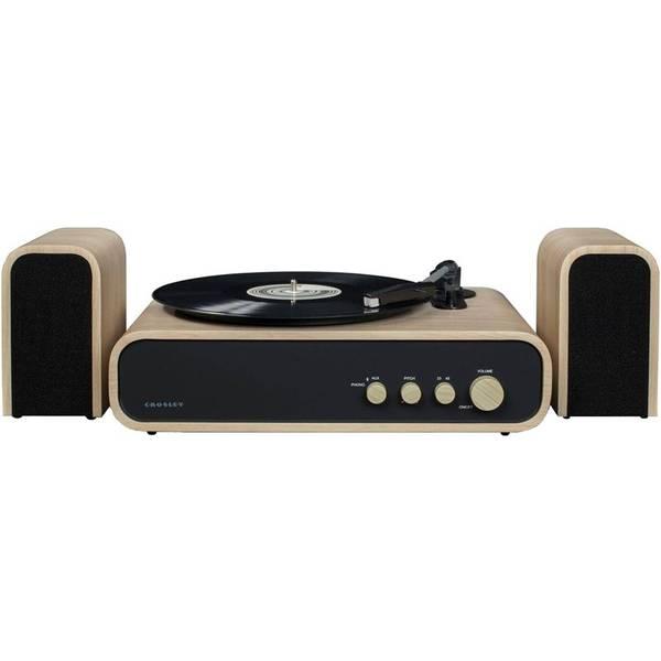 Gramofon Crosley Gig černý/hnědý