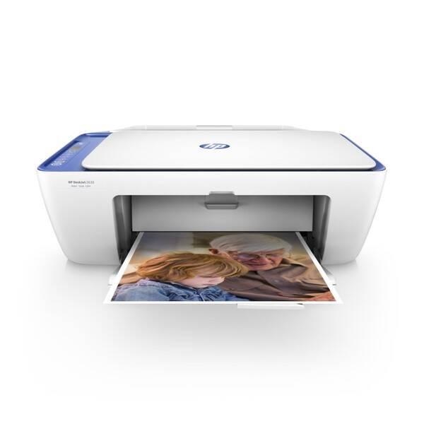 Tiskárna multifunkční HP DeskJet 2630 All-in-One (V1N03B#BHE) bílá/modrá