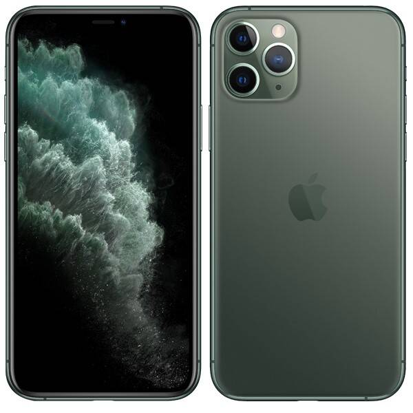 Mobilní telefon Apple iPhone 11 Pro 256 GB - Midnight Green (MWCC2CN/A)