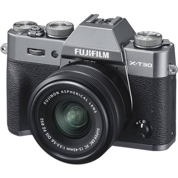 Digitálny fotoaparát Fujifilm X-T30 + XC15-45 mm sivý