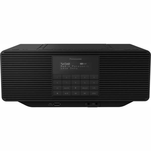 Radiopřijímač s DAB Panasonic RX-D70BTEG-K černý