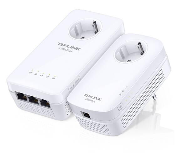 Sieťový rozvod LAN po 230V TP-Link TL-WPA8630PKIT (TL-WPA8630PKIT) biely