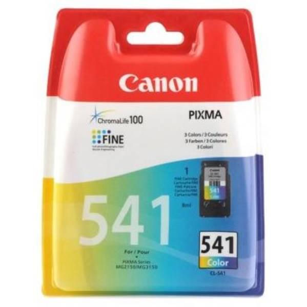 Inkoustová náplň Canon CL-541, 180 stran - originální (5227B005) červená/modrá/žlutá