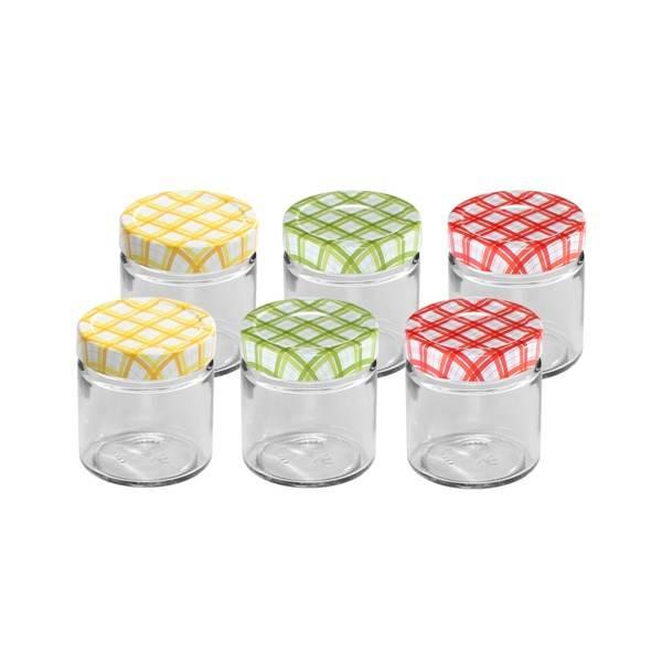 Víčka na sklenice Tescoma Della Casa 125 a 200 ml, 6 ks