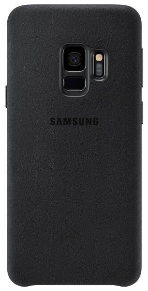 Kryt na mobil Samsung Alcantara pro Galaxy S9 (EF-XG960ABEGWW) černý