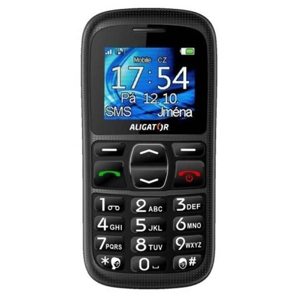 Mobilní telefon Aligator A420 (A420B) černý (vrácené zboží 8119005542)