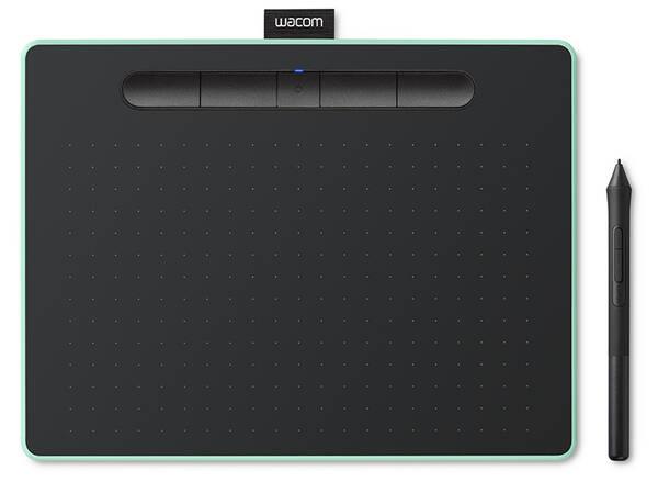 Tablet Wacom Intuos M Bluetooth  - pistáciový (CTL-6100WLE) (vrácené zboží 8800296749)