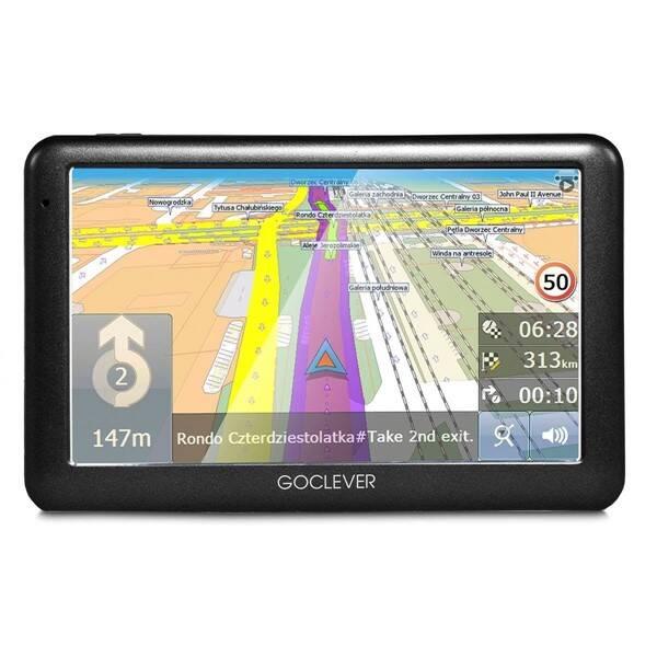 Navigačný systém GPS GoClever Navio 2 540 MapFactor Lifetime (GCDN2540NR) čierna
