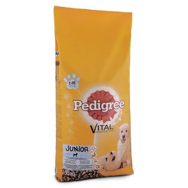 Granule Pedigree Junior kuřecí a rýže 15 kg