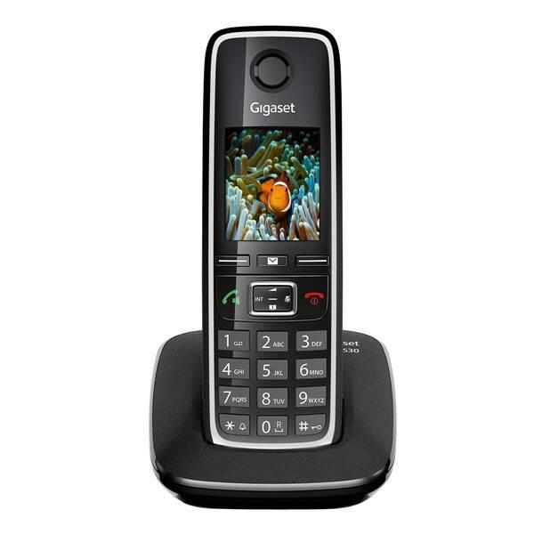 Domácí telefon Siemens C530 IP (S30852-H2506-R601) černý (vrácené zboží 8800704698)