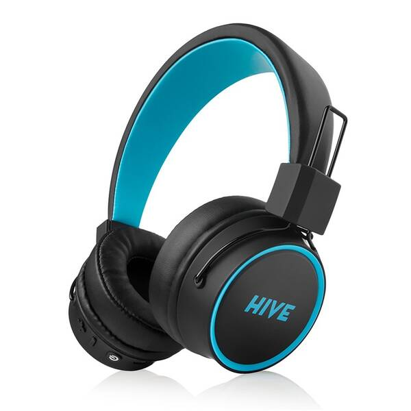 Sluchátka Niceboy HIVE 2 joy černá/modrá