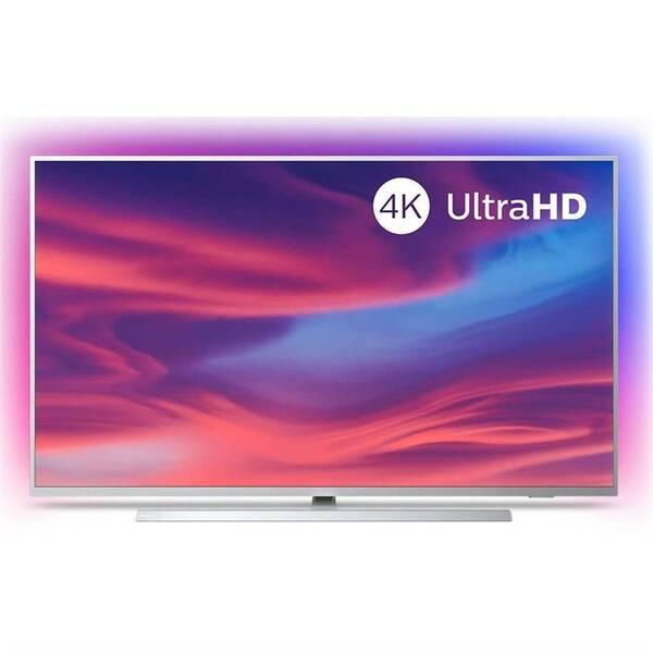 Televize Philips 50PUS7304 stříbrná