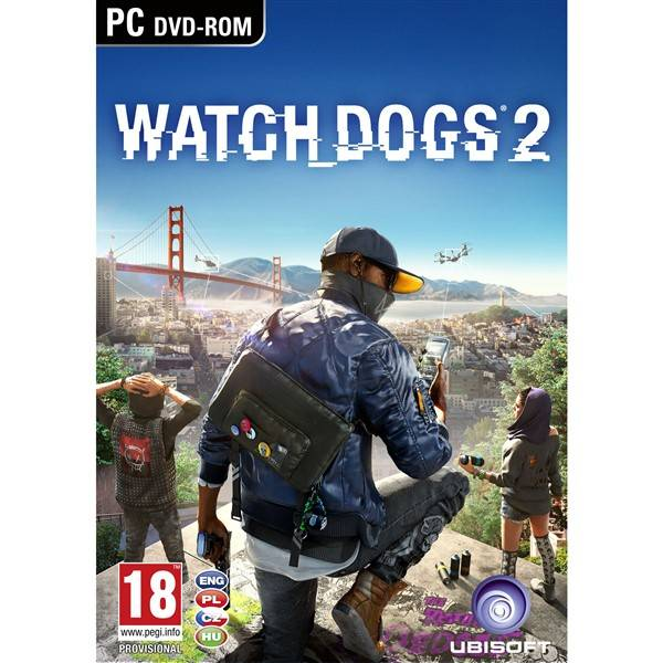 Hra Ubisoft PC Watch Dogs 2 (USPC07813)