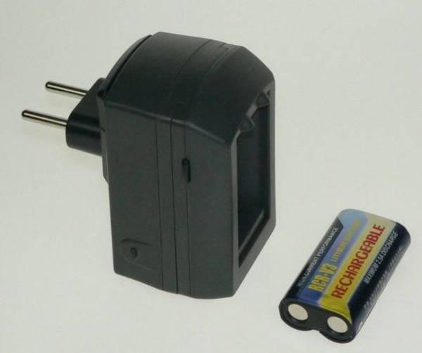 Nabíječka Avacom pro nabíjení Lithiové bat. CRV3 + 1x lithiová baterie CR-V3 1100mAh (ACFR3E) (poškozený obal 8800026338)