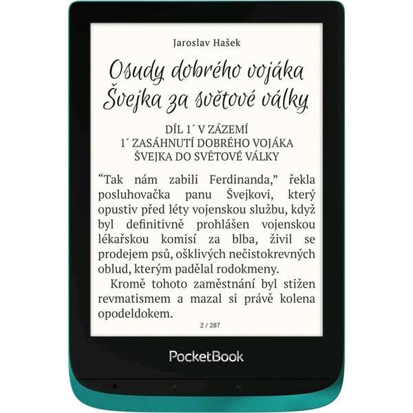 Čítačka kníh Pocket Book 627 Touch Lux 4 - Emerald (PB627-C-WW)