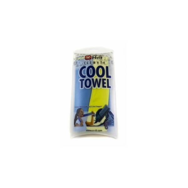 Cool Towel Twin 100 x 20 cm, modrá-limetková