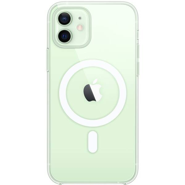 Kryt na mobil Apple Clear Case s MagSafe pre iPhone 12 a 12 Pro (MHLM3ZM/A)