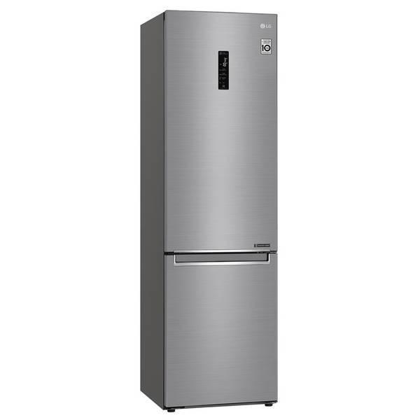Kombinácia chladničky s mrazničkou LG GBB72PZDFN nerez