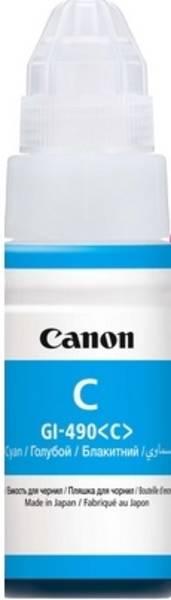 Inkoustová náplň Canon GI-490 Cyan (0664C001)