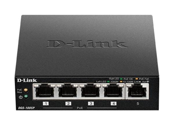 Switch D-Link DGS-1005P/E (DGS-1005P/E)