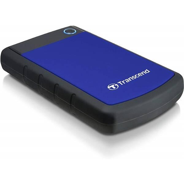 Externý pevný disk Transcend StoreJet 25H3B 2TB (TS2TSJ25H3B) čierny/modrý