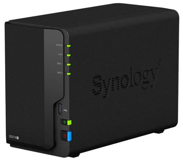 Datové uložiště (NAS) Synology DS218+ (DS218+) černé