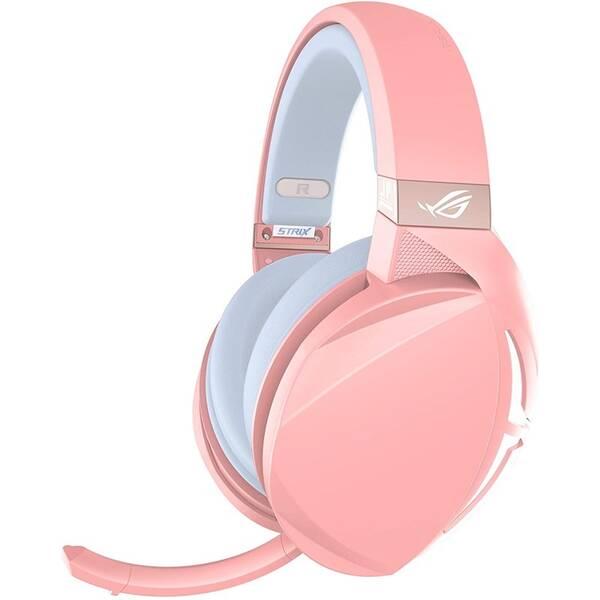 Headset Asus ROG Strix Fusion 300 (90YH01UP-B8UA00) růžový