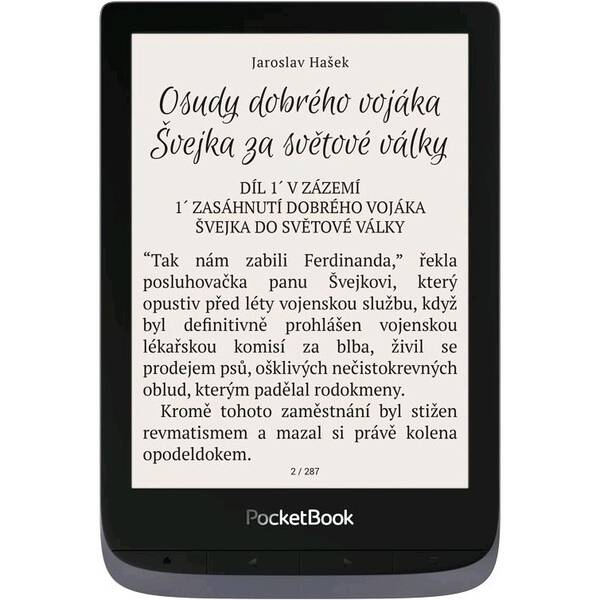 Čtečka e-knih Pocket Book 632 Touch HD 3 - Metallic Grey (PB632-J-WW)